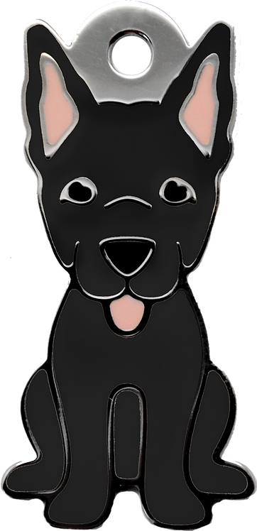 Black Chinese Tong Dog