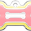 Thumbnail: Double Frames Bone Yellow & Pink