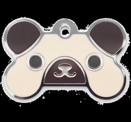 Pug Grind Enamel Bone