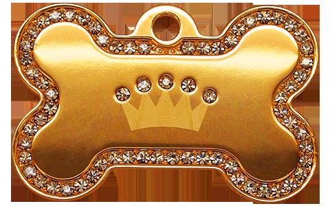 IP Gold White Crown Bone
