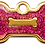 Thumbnail: IP Gold Fushia Glita Bone