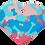 Thumbnail: Camouflage Print Heart RD/BL