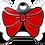 Thumbnail: Red Ribbon Grind Enamel Bone