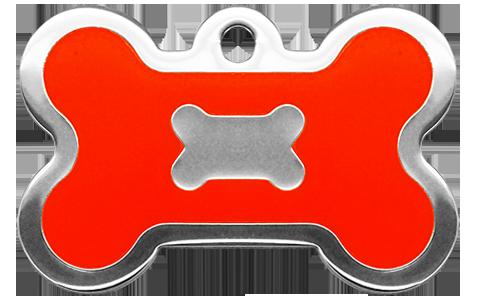 Neon Orange Bone (L)
