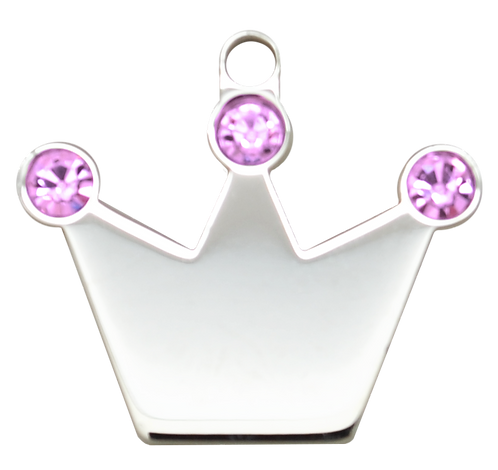 Crown with Pink (S)