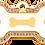 Thumbnail: IP Gold Purple Bone Bone (L)