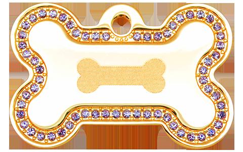 IP Gold Purple Bone Bone (L)