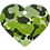 Thumbnail: Camouflage Print Heart GY/GN