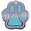 Thumbnail: Enamel Paw Purple/Blue