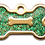 Thumbnail: IP Gold Dark Green Glita Bone