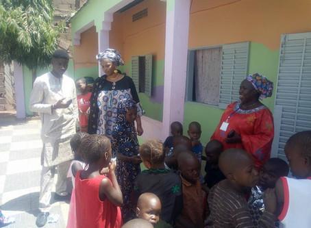 Bamako President's Wife Donates to Orphanage