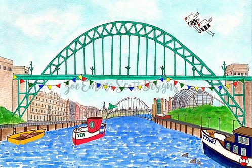 The Tyne Bridge, Newcastle upon Tyne