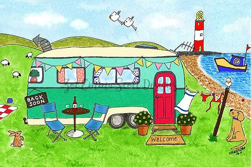 Home is where you park it! Caravan / Camper