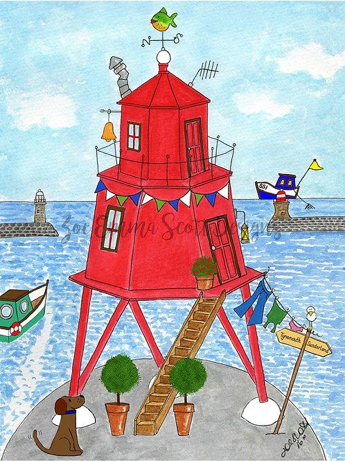 The Herd Groyne Lighthouse, South Shields