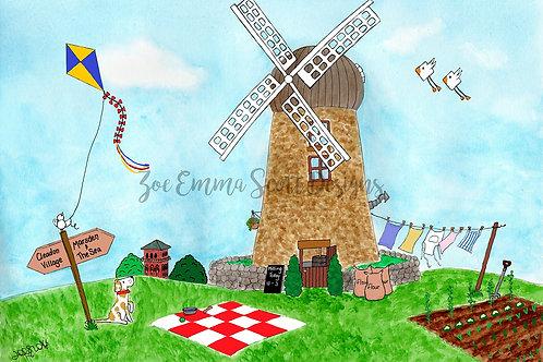 Cleadon Hills Windmill