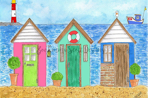 The Lighthouse Beach Huts