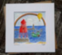 Zoe Emma Scott Artwork Groyne Lighthouse South Shields