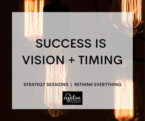 Success Is Vision + Timing