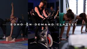 Fitness Studios Offer On-Demand Virtual Classes