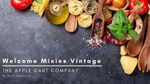 Welcome Mixies Vintage