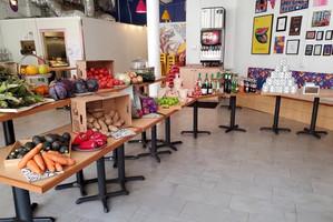 Local Taco Restaurant Transforms Dining Room Into A Mini Supermarket Of Essentials