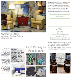 Carytown Boutique Offers Personalized Care Packages