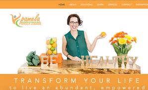 Richmond BizSense: Rebranding and Website Project for Pamela Biasca Losada