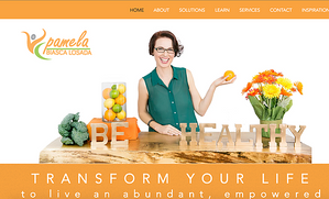 Richmond BizSense: Rebranding and Website Project for Pamela Biasca Losada