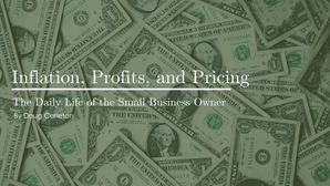 Inflation, Profits, and Pricing