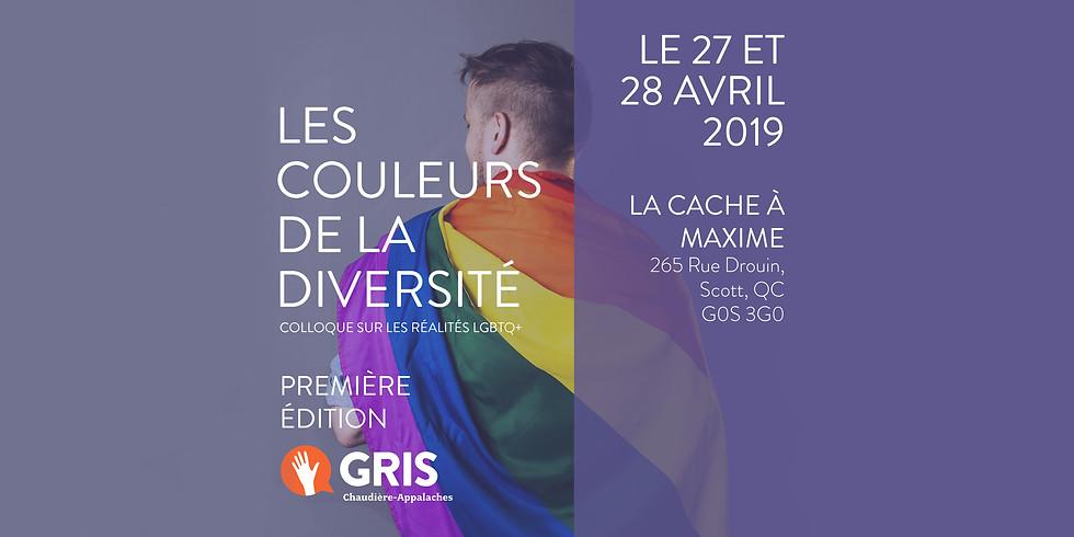 Les couleurs de la diversité; Colloque sur les réalités LGBTQ+