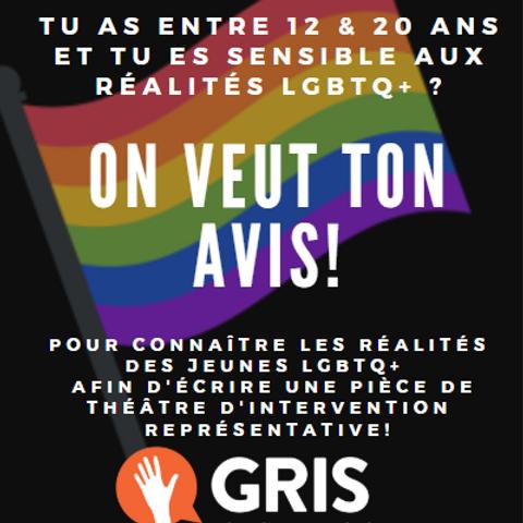 Comité consultatif de jeunes sensibles aux réalités LGBTQ+