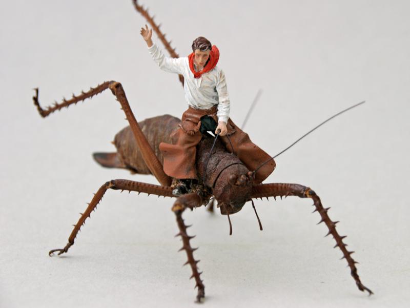 Grasshopper boy I (3D)