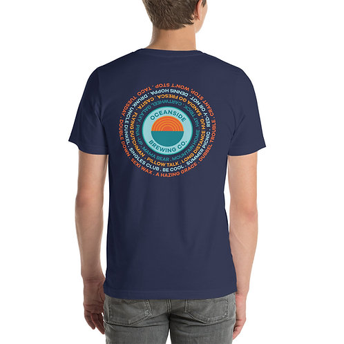 What's on Tap at OBC: Short-Sleeve Unisex T-Shirt