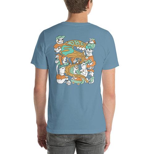 5 Years of Weirdness: OBC Anniversary Short-Sleeve Unisex T-Shirt