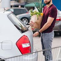 Car rental for grocery shopper