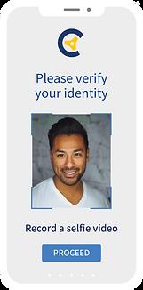Selfie based biometric customer verification