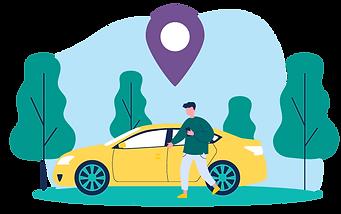 Coastr customer app for car rental