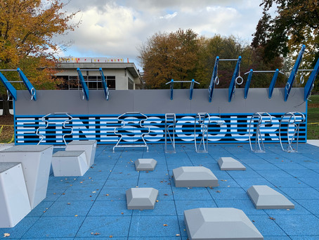 NEW OUTDOOR FITNESS COURT