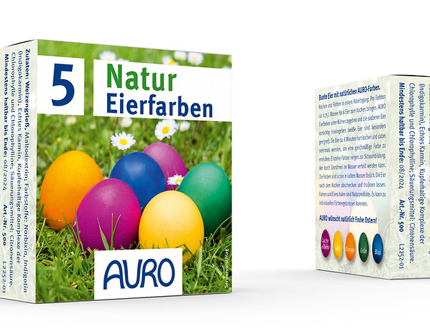 Natur Eierfarben