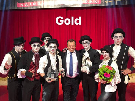 Члены жюри международного фестиваля циркового искусства во Франции присудили золотые награды артиста