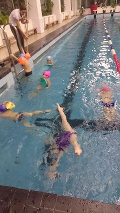 обучение синхронному плаванию детей с 3 лет