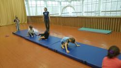 Группа 4-6 лет занятия по акробатике