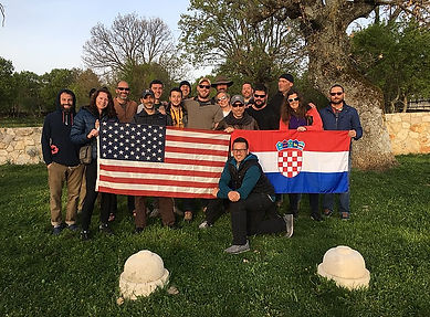 FILMCroatia and Dual Survival crew