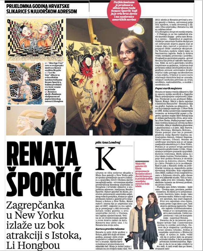 Vecernji List about Renata