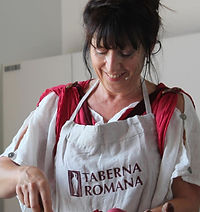 Mireille Chérubini Taberna Romana cusine romaine expo universelle Milan 2015