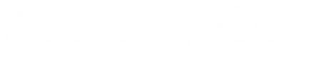 Logo - White - AudreyJCole.png