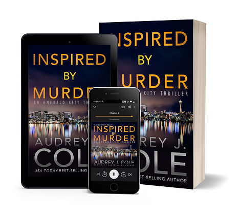 Inspired By Murder - Paperback ebook and