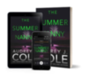 The Summer Nanny - Paperback ebook and a