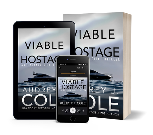 Viable Hostage - ebook audio paperback w