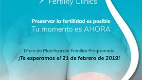 Participación en el I Foro de Planificación Familiar Programada sobre la preservación de la fertilid